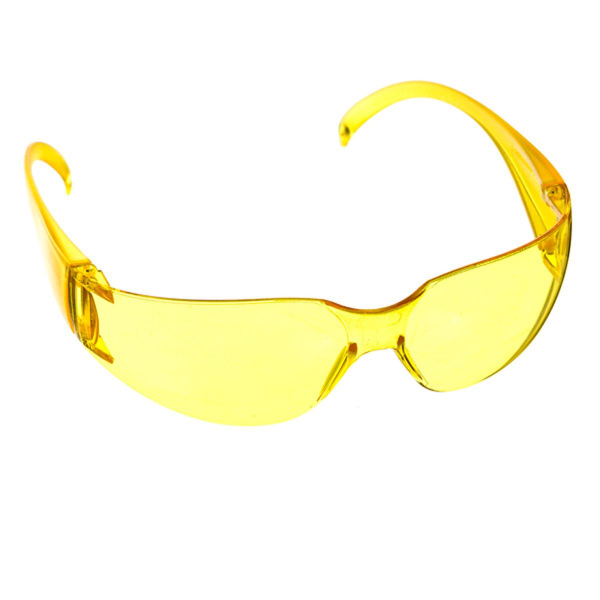 ed41c60bfc3e0 Óculos de Proteção Super Vision Amarelo Carbografite