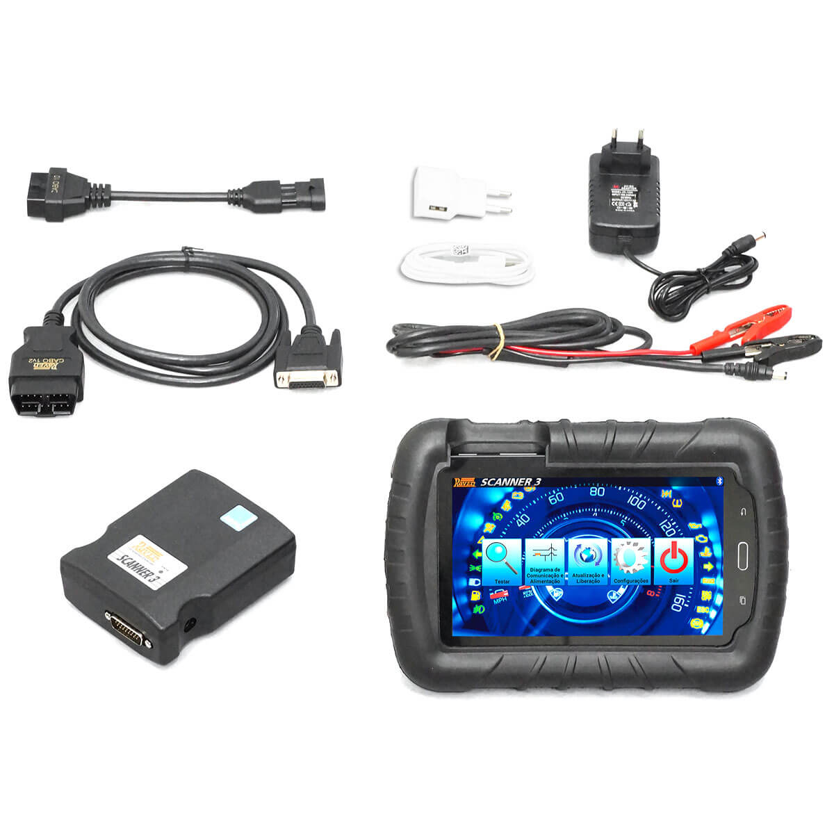 Scanner Automotivo Raven 3 com Tablet 7 Pol 108800 Raven